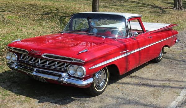 1959 El Camino front